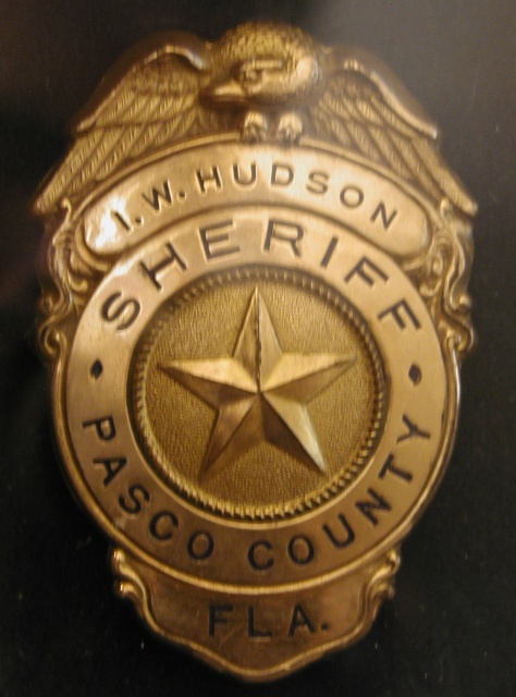 Sheriffs of Pasco County, Florida
