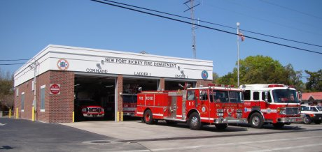History of Fire Departments in Western Pasco County, Florida