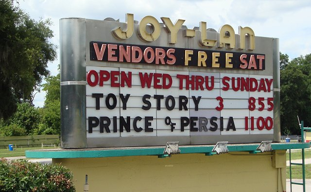 History of Joy-Lan Drive-In Theatre, Dade City, Florida