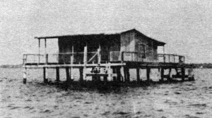 Stilt Houses in the Gulf of Mexico, Pasco County, Florida