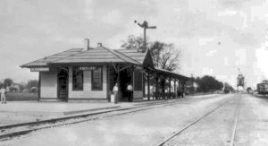 The depot in Trilby, Florida