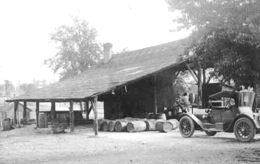 turpentine still near Chipco, 1929