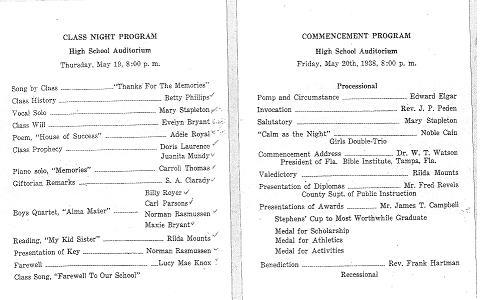 school program template